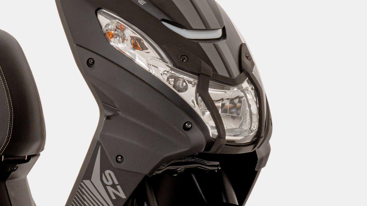 Peugeot Steetzone 50CC Pearly Black/Mad Black kopen of