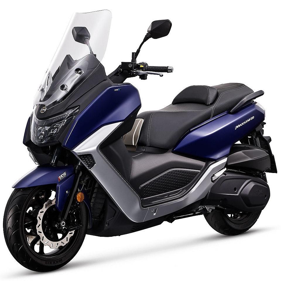 Sym Maxsym 400 euro 5 blauw