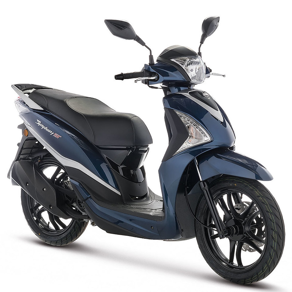 Sym Symphpny ST Euro 4 blauw