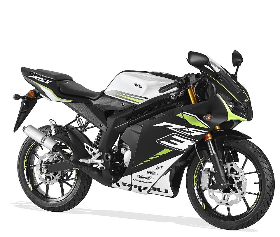 Rieju RS3 zwart / groen