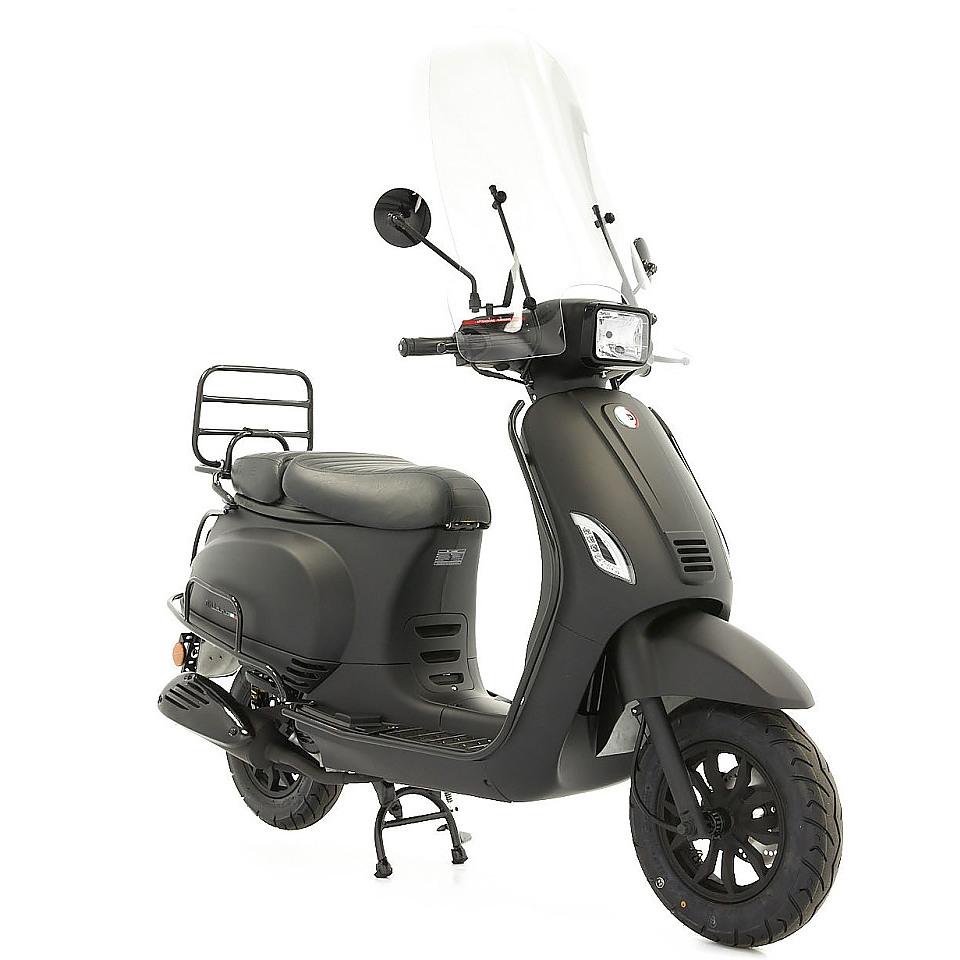 DTS Milano S Limited Euro 5 mat zwart