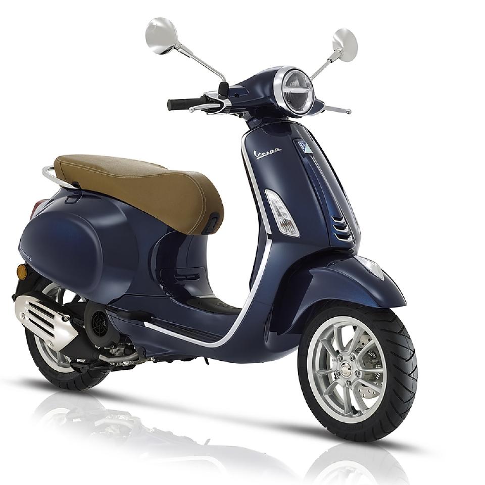 Vespa Primavera 125cc Euro5 Armonia Blauw