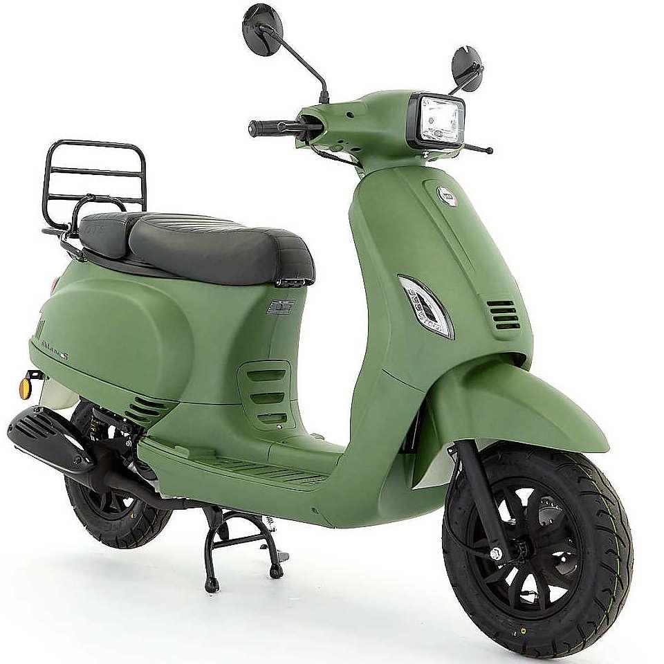 DTS Milano S mat groen