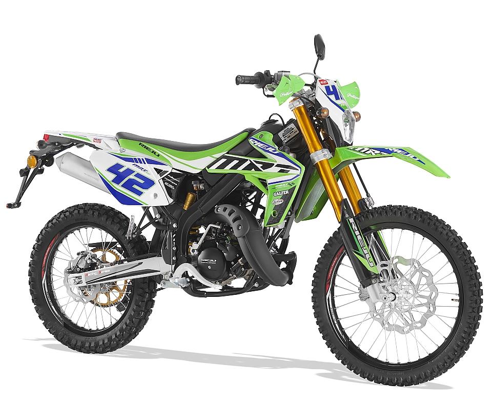 Rieju MRT 50 Pro groen / wit