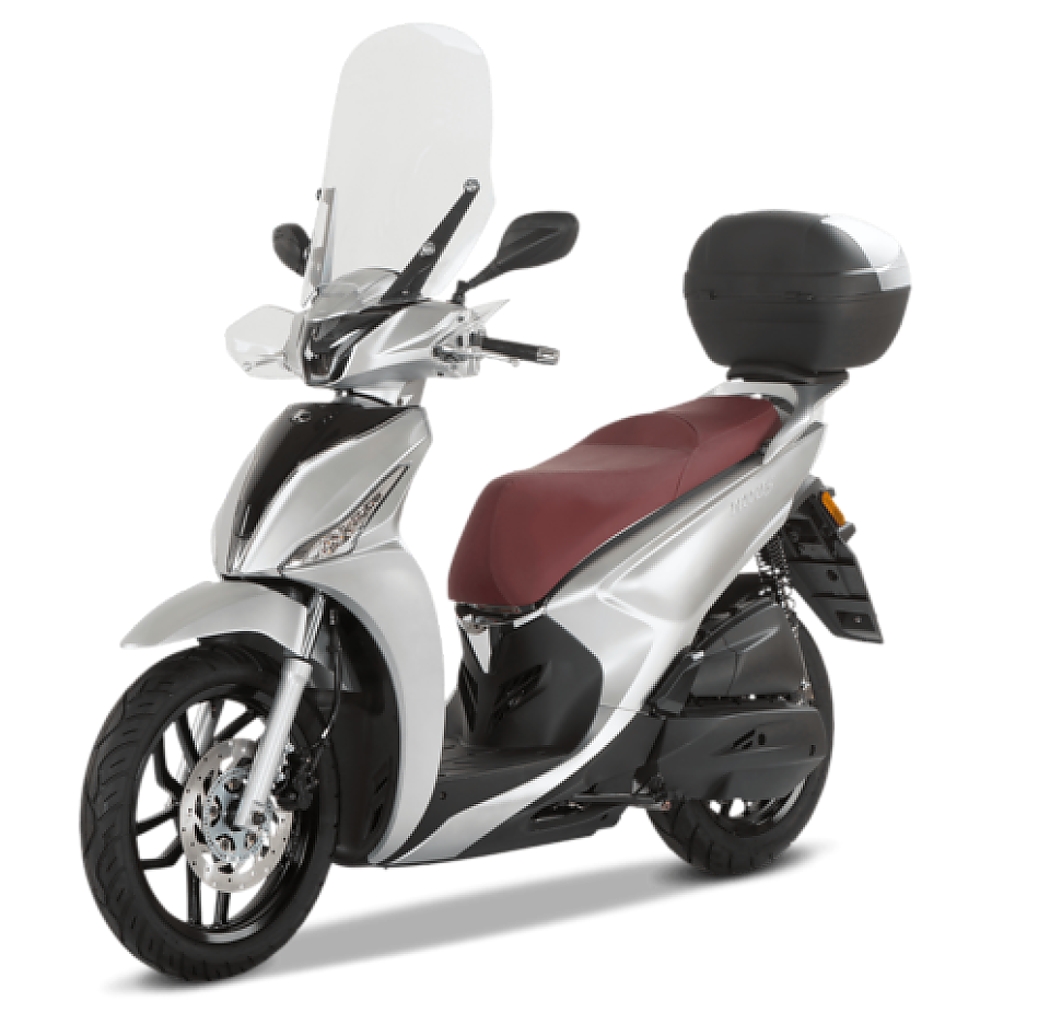 Kymco New People S Euro5 Mat Zilver 2