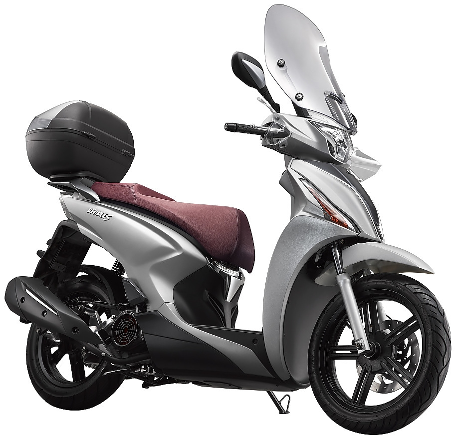 Kymco New People S 150 Euro5 Mat Zilver