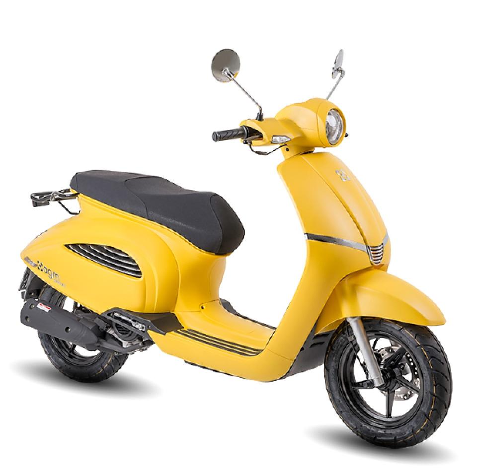 AGM supreme geel Euro5