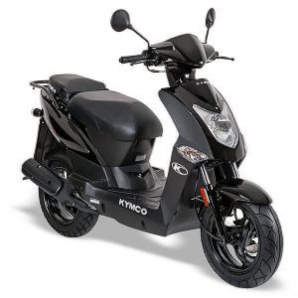 Kymco Agility Double Seat Euro5 Zwart