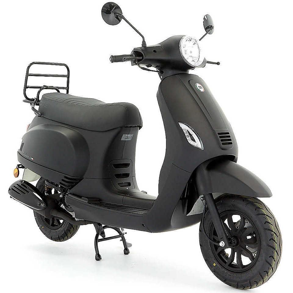 Dts Milano Euro 5 mat zwart
